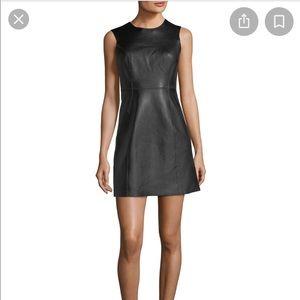 Rag & Bone Loxley Leather Dress, Sz 6